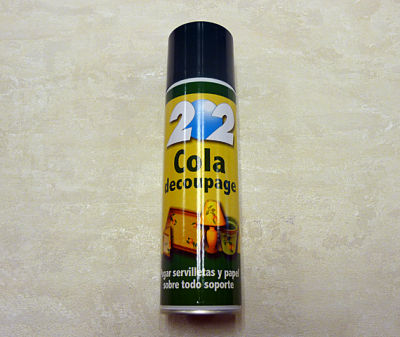 Cola decoupage en spray